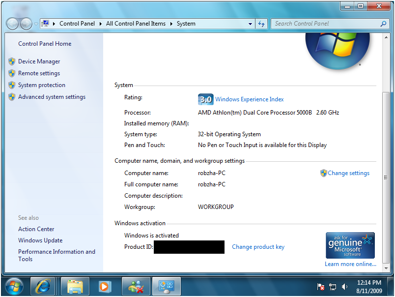 Generally, if you encounter any Windows 7 Activation problems, check