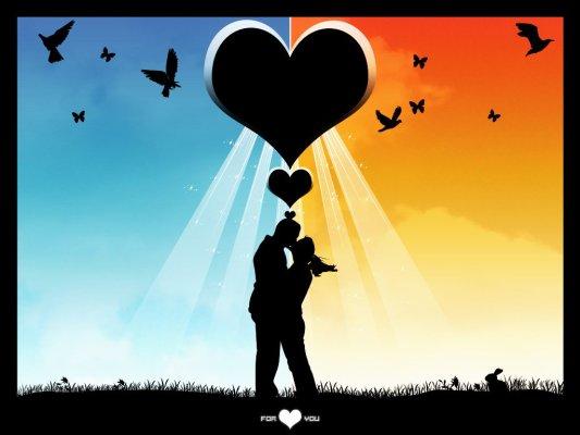 amor la distancia. postales de amor a distancia