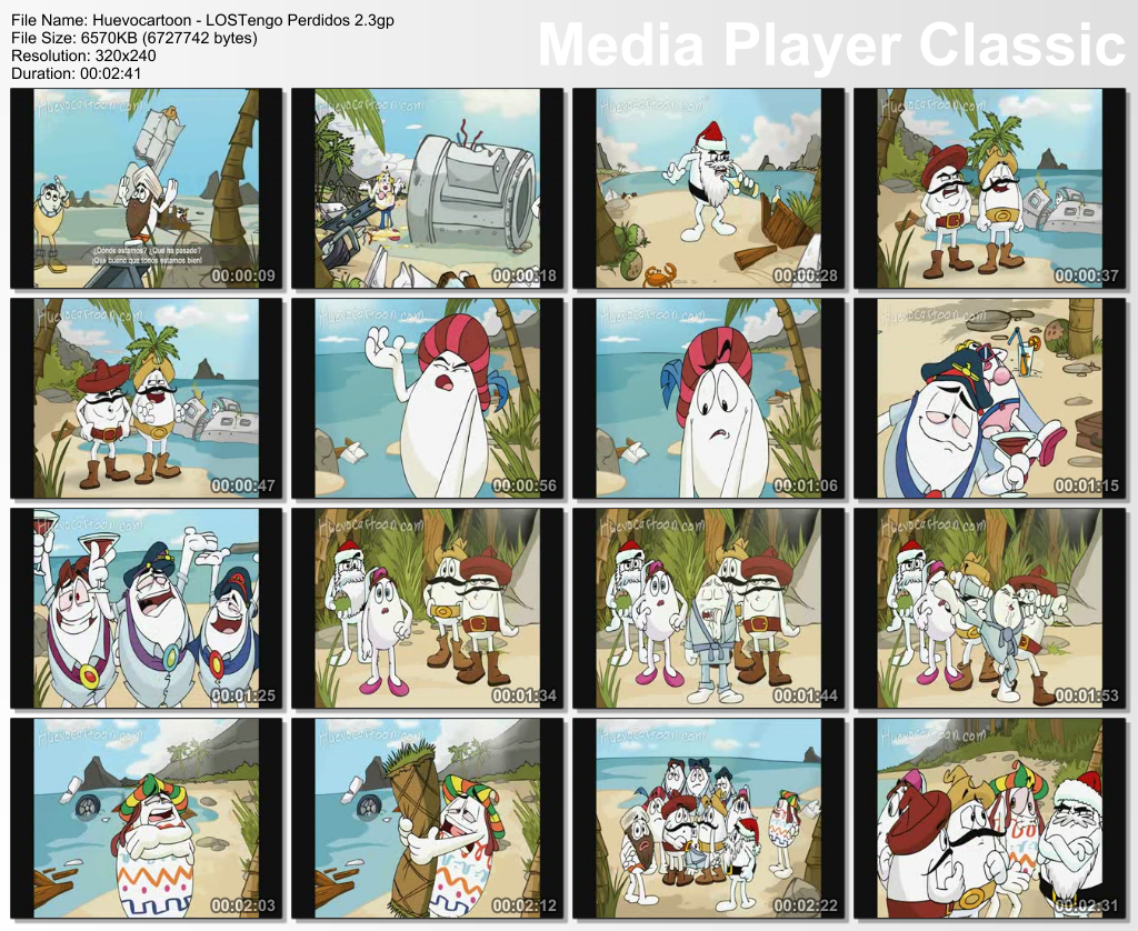 [MF] LOST engo perdidos (Completo) 3gp cel.(parodia de lost con los huevo cartoon) Thumbs20090726175849