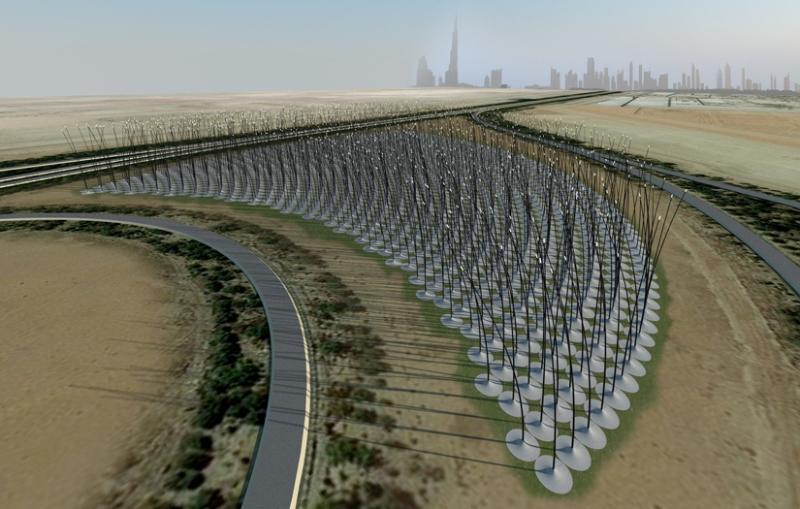 Windstalk - ветрогенераторы без лопастей