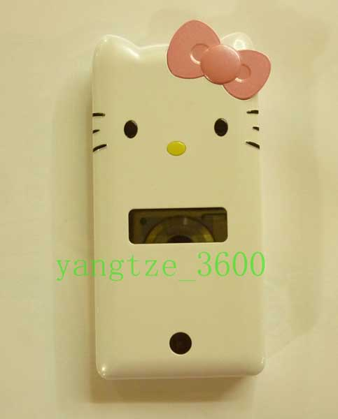 Flip K2 Hello Kitty Cell Phone Unlocked Dual Sim Card Touch Screen Keying White